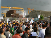 Strike at Tuzla shipyards, Turkey